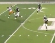 VIDEO: How did WR Michael Blevins possibly make this catch?