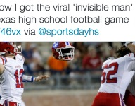 How photographer captured viral 'ghost' photo in high school football game