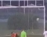 VIDEO: Ohio goalkeeper AJ Wolford makes three saves in four seconds on penalty kick