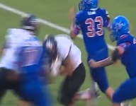 VIDEO: Liberty (Texas) RB breaks tackle, spins and then goes 83 yards for TD