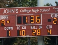 No. 22 St. John's (D.C.) wins to set up matchup with No. 4 DeMatha (Md.)