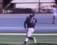VIDEO: 350-pound OT Isaiah Wilson scores TD on amazing wildcat run
