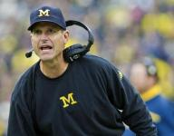 Florida signee Jake Allen claims Michigan coach Jim Harbaugh said he doesn't care about grades