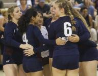 Roundup: Knights volleyball rallies for tough win over Beaumont