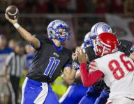 HS football: HSE punches through in overtime to top Fishers