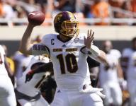 Role in upset win lands CMU's Cooper Rush weekly award
