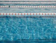 Monday's swimming results