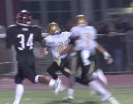 Andrew DelPercio finds Isaiah Velez for a touchdown