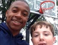 Celtics' Isaiah Thomas shoots in park with 14-year-old who was playing alone