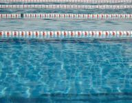 Wednesday's swimming results