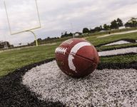 Which states currently have the most undefeated football teams?