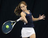 Mercy freshman Julia Andreach loses state tennis final