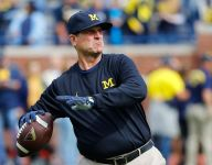 Jim Harbaugh not a fan of Big Ten's Friday night football plans: 'Friday night is for high school football'