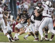 Dowdle sees first action for Gamecocks