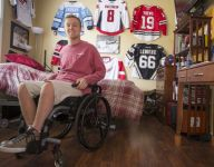 Once-promising Fishers (Ind.) hockey player chasing new dream as quadriplegic