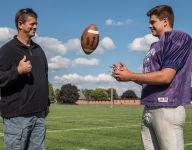 Fathers/sons make football families at Lakeview, Harper