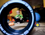 Mich. football teams to honor 3-year-old with leukemia