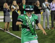 Novi senior Robby Heil adds to 'Rudy' moment, wins homecoming king