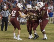 Tate helps senior live out football dream