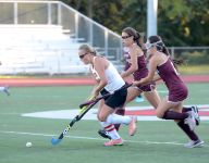 Croton's Burke and Scarsdale's Mehlman each net four; underdog Suffern ties Clarkstown South