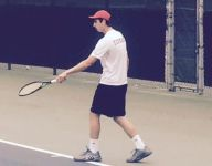 Boys tennis state finals: Troy's Steve Forman big hit at No. 1 singles