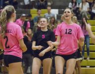 Prep Volleyball: Desert Hills clinches region title with four-set win over Pine View