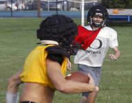 Autistic Delphi student opens up through football