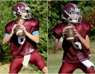 Franklin thrives with two-quarterback system
