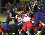 Palm Springs prevails in slugfest with Knights