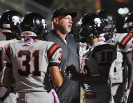 Palm Bay football celebrates 200th win with Burke