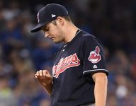 Years after high school tiff, Trevor Bauer, Mike Montgomery land in World Series