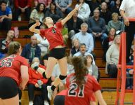 New Palestine earns first volleyball regional title