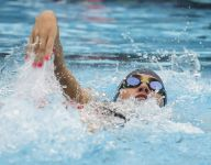 Alina Faunce pushes Estero swimming to second in region
