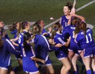 Pearl River celebrates an upset win over Somers to claim Class A title