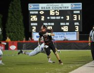 Bears receiver Morgan goes over 1,000 yards