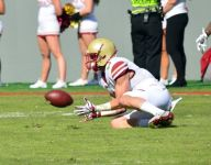Naples grad Michael Walker making plays with Boston College