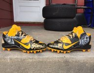 Steelers' Brown Tweets he will donate Ali cleats to Central High
