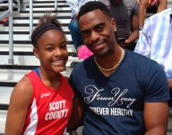 Tyson Gay plans to mentor youth in wake of daughter Trinity's death by gun violence