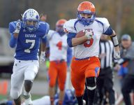 New No. 1 team in Section V before football playoffs