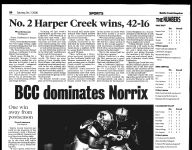 BC Sports History: High-ranked teams battle in football