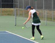 Rader takes fifth, Tracy reaches quarterfinals in tennis championships