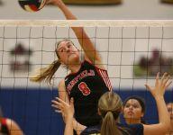 High school girls volleyball, Oct. 18