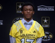 Wide receiver DeVonta Smith gets Army All-American jersey