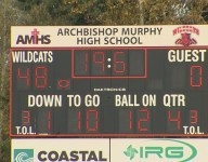 Archbishop Murphy (Wash.) wins on field after five forfeits when opponents refused to play