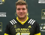 Five-star OT Josh Myers receives Army All-American jersey: 'It means the world to me'