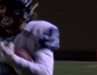 VIDEO: Colorado receiver reaches over his head for one-handed grab