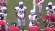VIDEO: North Penn (Pa.) female kicker knocks return man out of bounds