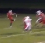 VIDEO: Jack Rogers boots goal line-to-goal line punt