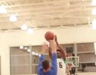 VIDEO: Roy Jones III, son of boxing legend, shows off basketball skills