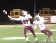 VIDEO: North Christian (La.) WR Sam Smith pulls in wild deflected pass
